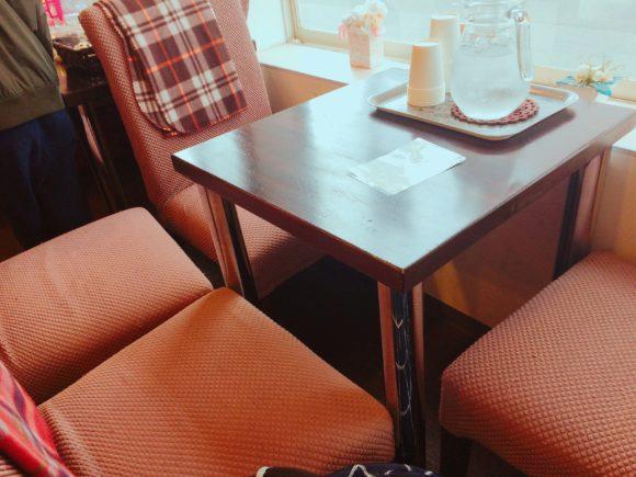 fiolaのカフェスペース