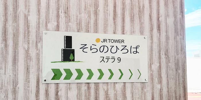 【ステラ9】そらのひろば(札幌ステラプレイス屋上に広場)
