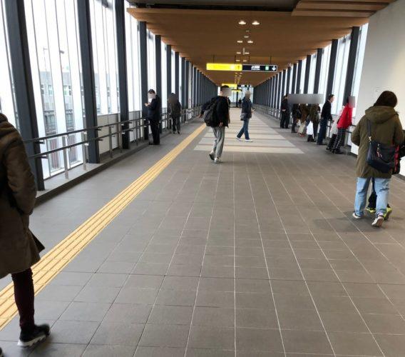 苗穂駅メイン通路