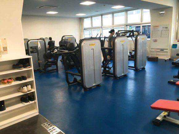 北ガスアリーナのトレーニング室2