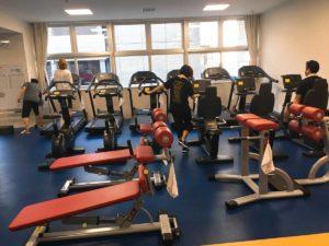 北ガスアリーナのトレーニング室1