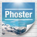 たったの3ステップでクールなポスター画像がデザインできる「Phoster」アプリ